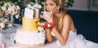 Ситцевая свадьба Веры Брежневой